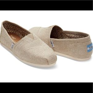 TOMS Gold Canvas
